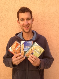 I'm holding all 3 volumes of the Tafraout Pocket Guide!  And I'm Happy!